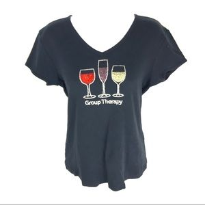 Group Therapy Women's Wine Shirt M